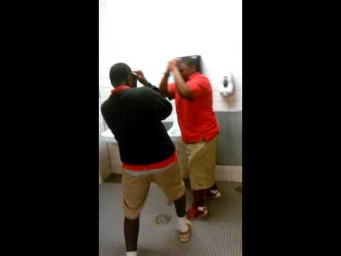 Woodlawn high school Slap boxing - YouTube