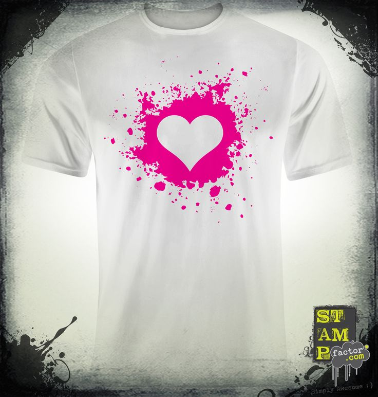 My Valentine (Pure Magenta) 2014 Collection - © stampfactor.com *T-SHIRT PREVIEW*