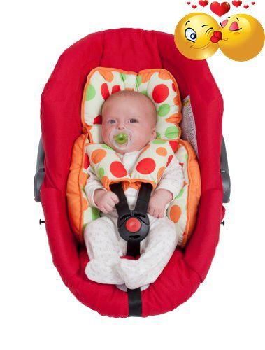 #babygear The #clevamama car seat support provides support for your baby's developing neck muscles during the early months, keeping them perfectly stable and com...