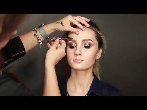 Smoky eyes. Макияж для выпускного вечера - YouTube