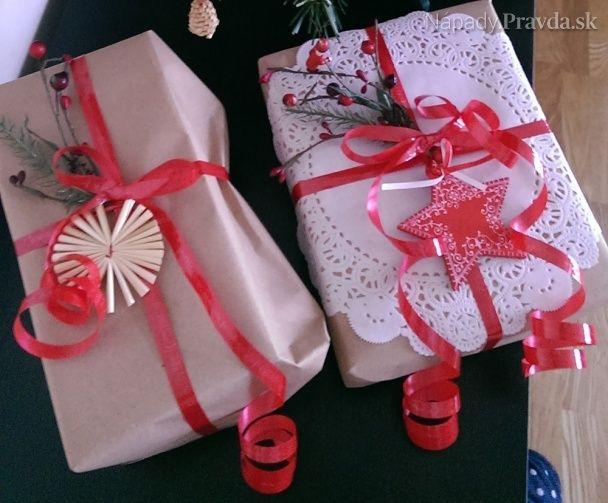 Balenie vianočných darčekov inak