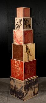 Love these storage boxes - bookshelves?