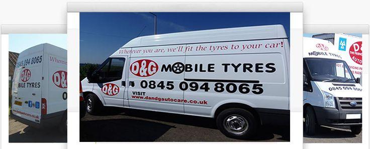 D&G Autocare Mobile Tyre Van