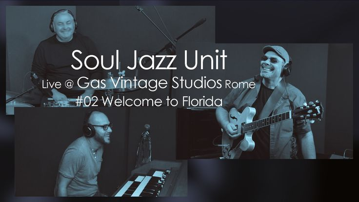 """SoulJazzUnit Live at Gas Vintage Studios Rome - 02 Welcome to Florida Here's the second video and track by Soul jazz unit """"Welcome to Florida"""" Awesome bossa style almost latino groove a must see and listen. These guys are truly on top of it !"""