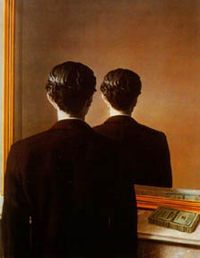Not to Be Reproduced  Rene Magritte  1937
