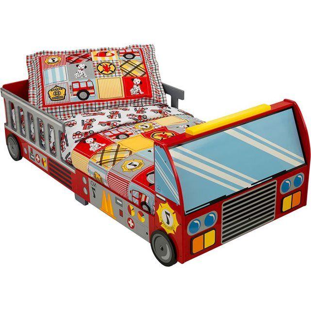 Lit pour enfant Pompier KIDKRAFT