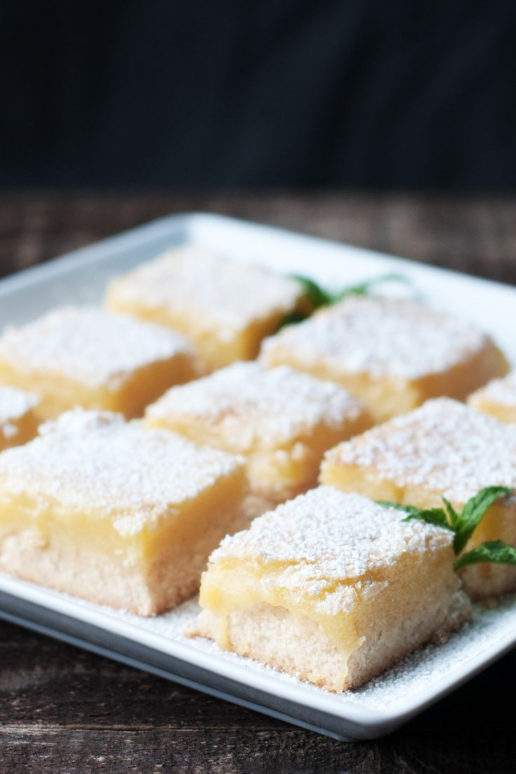Cheesecake Lemon Bars Recipe