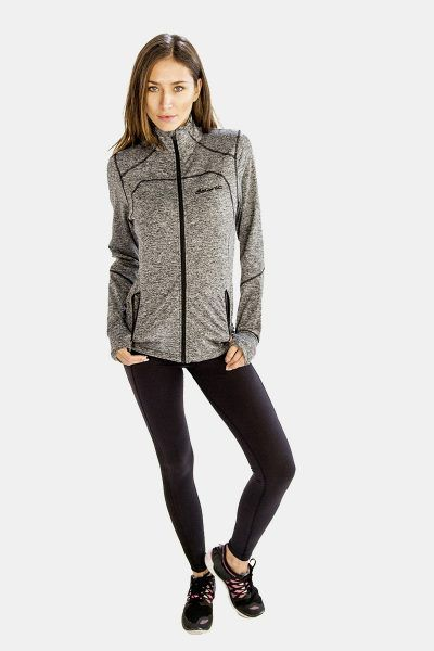 25% Discounts on This High Neck Simple #Jackets For Women at Alanic Activewear.