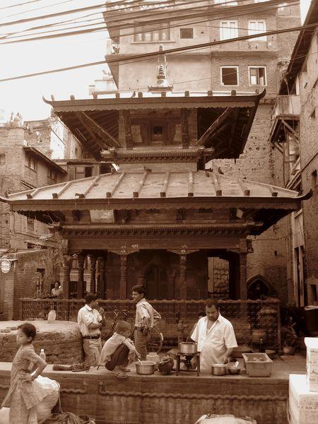 Kathamandu, Nepal - The Market of Thamel - by Emanuele Del Bufalo