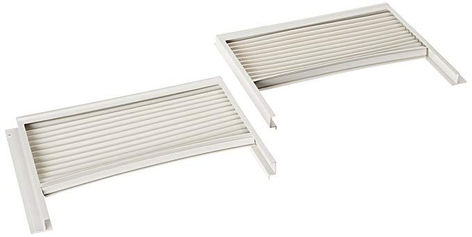 Frigidaire 5304475241 Air Conditioner Window Side Curtain And Frame Review Window Treatment Panels Window Air Conditioner Window Curtains Bathroom Window