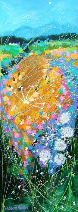 Cow Parsley Moon ~ by Scottish Artist Deborah Phillips