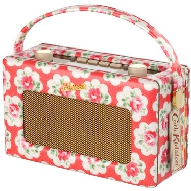 This limited edition DAB digital radio makes a wonderful addition to any room, the unique design is completed in our pretty Provence Rose print. It offers 120 hours battery life and boasts rotary tuning and volume controls, RDS station name display, headphone socket and easy portability, thanks to its carry handle.