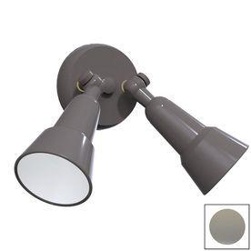 Remcraft Lighting Swedish Modern W Grey Outdoor Flush-Mount Light 2040