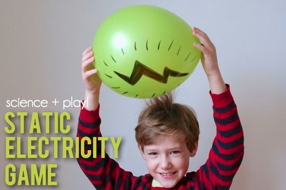 science + play: static electricity game