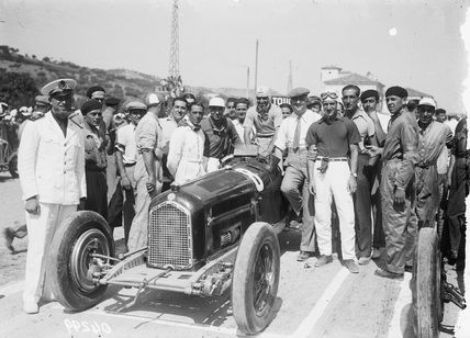 Dr Testi | 1932 14th August. Coppa Acerbo. Alfa P3 ,#8, Nuvolari. Enzo ...