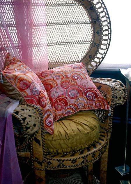 Attractive Inspiration Bohemian Couch. Dishfunctional Designs  The Bohemian Chair I always loved these chairs Probably not comfortable at all but they are very attractive 99 best Peacock Chairs images on Pinterest Armchairs