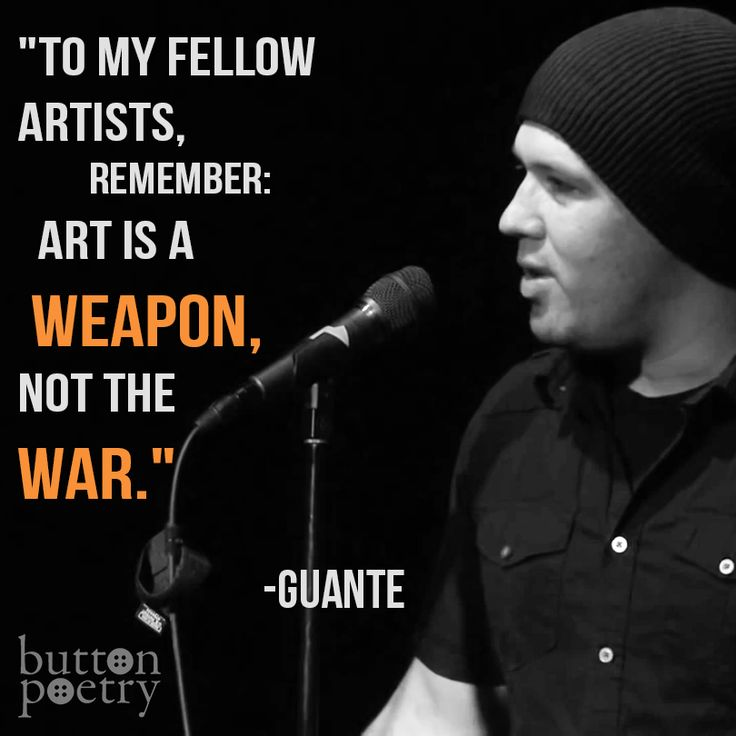 Guante: A Beginner's Guide to Spoken Word and Slam Poetry