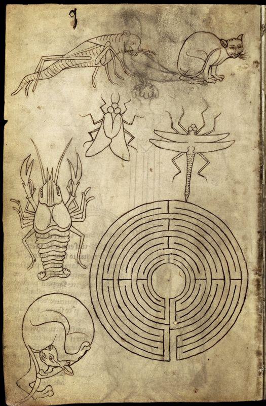 Le carnet de Villard de Honnecourt (vers 1220-1230), fol. 14 - Paris, Bibliothèque nationale de France, Département des manuscrits, Français 19093