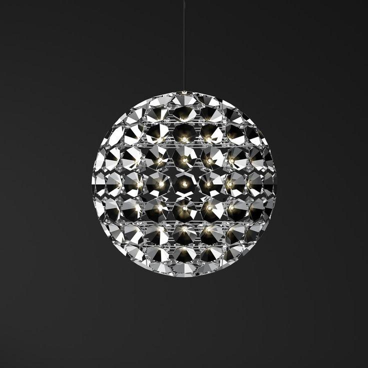 Люстра в форме шара сделанная из 150 светильников http://www.lustra-gus.ru/blog/lyustra-v-forme-shara-sdelannaya-iz-150-svetilnikov/