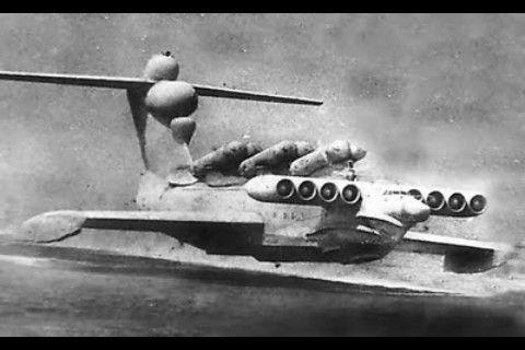 Russian Lun-Class Ekranoplan (ground effect aircraft)