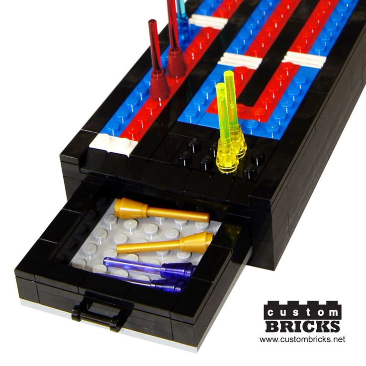 customBRICKS: Lego Cribbage Board