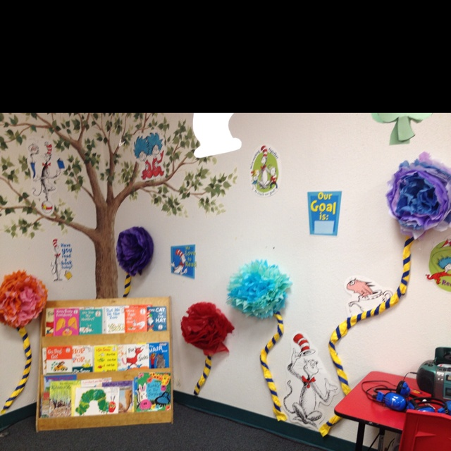Classroom Design For Daycare ~ Our lorax reading center classroom decorating