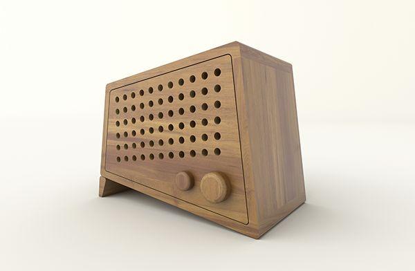 Mini Wood Speaker on Behance