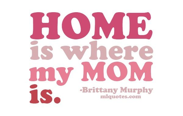 This is so amazing in more than one way! Because my mom is not here on earth anymore. She is in Heaven where my home is.