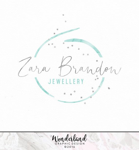 Pre-made Logo, Modern Logo, Abstract Logo, Confetti Logo, Stylish Logo…