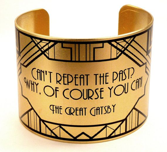 """""""Repeat the Past"""" Cuff 