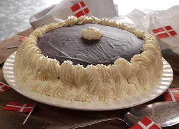 Opskrift på lagkage | Lagkage med blød nougat