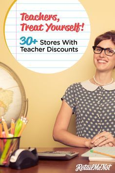 It's no secret that school shopping gets crazy expensive for teachers. If they're not shelling out money for art supplies and paper, they're off buying books and pens. Luckily, the 30 retailers below want to help. From Apple to J.Crew, these companies offer exclusive discounts on just about everything a teacher could possibly need!