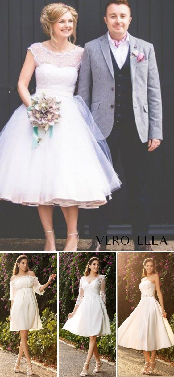 379b0d507899 Discover short wedding dresses on sale from VeroElla. Don't miss out, shop