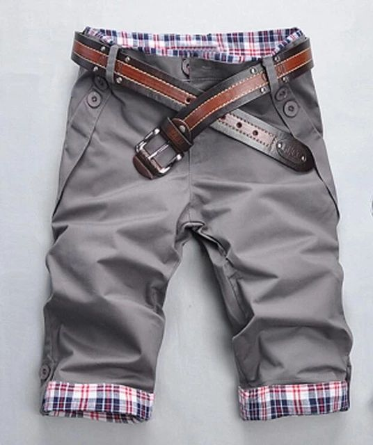Hot 2018 New Man's Summer Casual Shorts Fashion Men's Shorts Brand-clothing Knee Length Short Sweatpants Plus Size 3XL