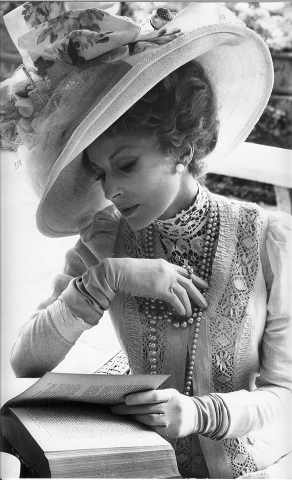 """Silvana Mangano as Tadzio's mother in """"Death in Venice"""", directed by Luchino Visconti, 1971."""