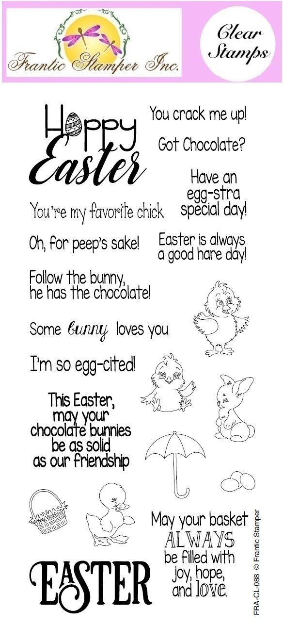 Easter Greetings Easter Greetings Easter Card Sayings Clear Stamps