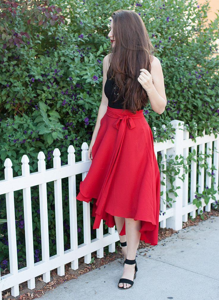 Cascade Skirt | Pattern Review | Megan Nielsen