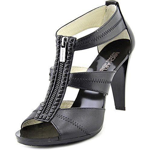 BCBGeneration Womens Cynthia Pointed Toe Ankle Strap Dorsay Black Size 7.0 Qg