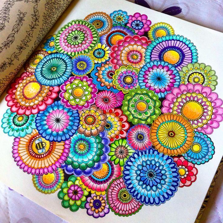 920 Secret Garden Coloring Book Ideas HD