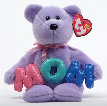 Mom (2005) - bear - Ty Beanie Babies