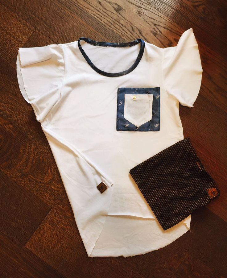 Woman t-shirt base poket #oppositeqb #fornasettiMilano #helpHelp