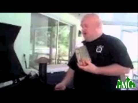 Jimmy Dort Cooking on a Green Mountain Grills Pellet Grill