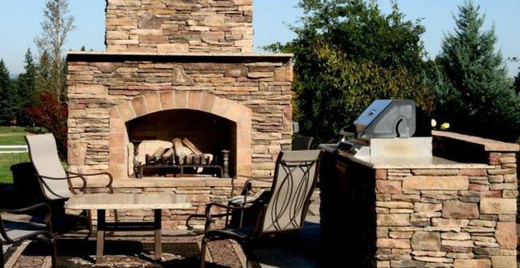 Natursteingrill im Garten – ein bezahlbares Vergnügen   – Haus ideen
