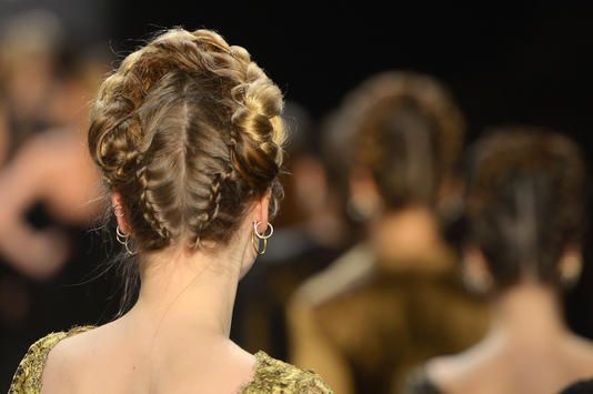 Traditional Austrian/Bavarian hairstyle at the Lena ...