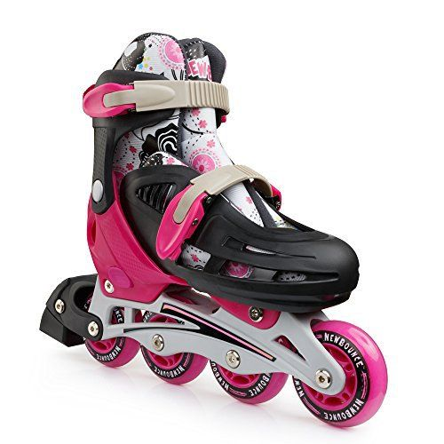 .. Help Your Little Ones Unleash Their Inner Skating Champion with the Best Pair of Roller Skates by New Bounce!  Are you looking for cool-looking and fully adjustable roller skate shoes for your little ones? Do you want to surprise your kids with an awesome pair of roller skates that they will... more details available at https://perfect-gifts.bestselleroutlets.com/gifts-for-teens/skates-skateboards-scooters/product-review-for-premium-roller-skate-by-new-bounce-4-wheel-inlin