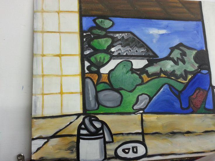Japan - Acrylic