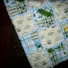 john deere rag quilt - I would love one of these for the new Baby :)
