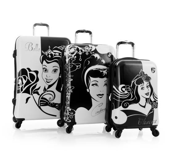 Disney princess luggage..yes please:)