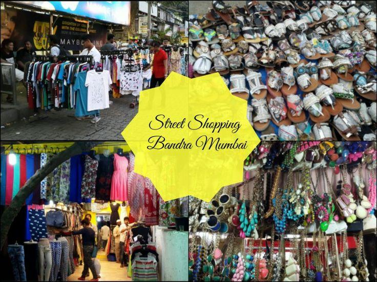 street shopping bandra mumbai
