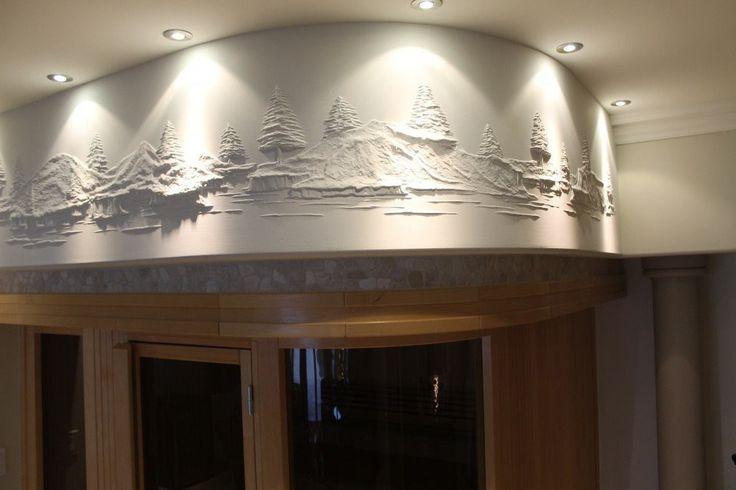 Штукатур из Канады превращает скучные стены в произведения искусства.